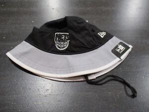 NEW-Brooklyn-Nets-Bucket-Hat-Cap-Adult-Extra-Large-Black-NBA-Basketball-Fishing