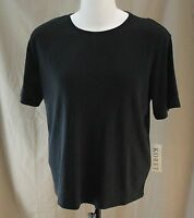 Koret, Xl (18/20) Black Knit Top, With Tags
