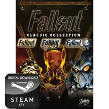 FALLOUT CLASSICS COLLECTION 1, 2 AND TACTICS PC STEAM KEY
