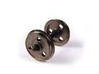 Bachmann OO Gauge 36-015 Metal 3 Hole Disc Wagon Wheels X10