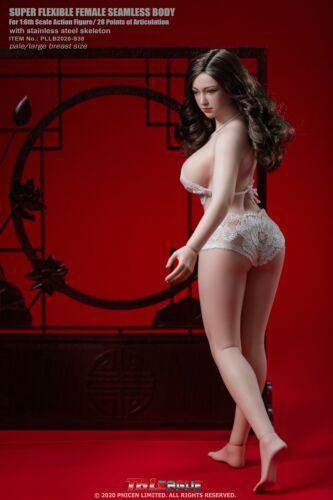 """TBLeague S38A 1//6 Female Phicen Body Toy Pale Big Bust 12/"""" Figure Action Presale"""