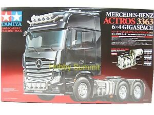 56348-Tamiya-R-C-Mercedes-Benz-ACTROS-3363-6X4-GIGASPACE-Tractor-Truck-1-14