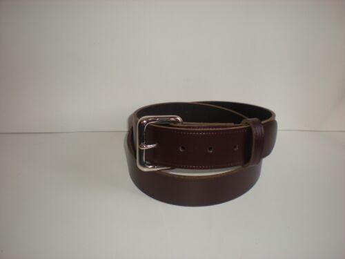 bordeaux clair /& Blanc S à XXL bleu marine marron vert L5 durable en cuir ceintures noir