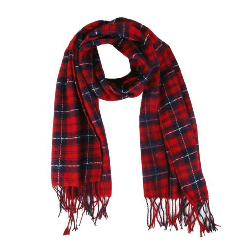 Women Long Cashmere Winter Soft Warm Scarf Wrap Shawl Plaid Pashmina Neck Wraps