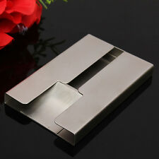 Stainless steel thumb slide out business name credit card holder item 2 new stainless steel thumb slide out business name credit card holder pocket case new stainless steel thumb slide out business name credit card colourmoves
