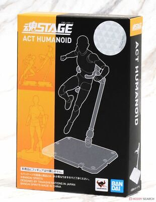 Set di 2 Bandai Stage Act 4 Human Display Stand Clear