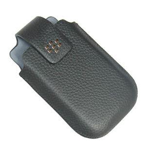 NEW-OEM-Blackberry-Curve-9220-9310-9315-9320-9330-BK-Leather-Swivel-Holster-Case