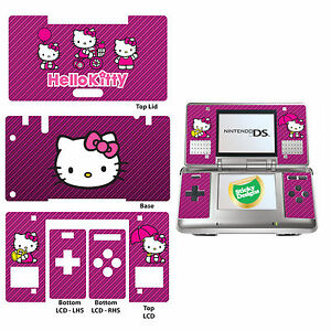 hello kitty vinyl skin aufkleber f r nintendo ds original. Black Bedroom Furniture Sets. Home Design Ideas