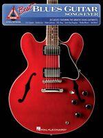 The Best Blues Guitar Songs Ever Sheet Music Guitar Tablature Book 000690923