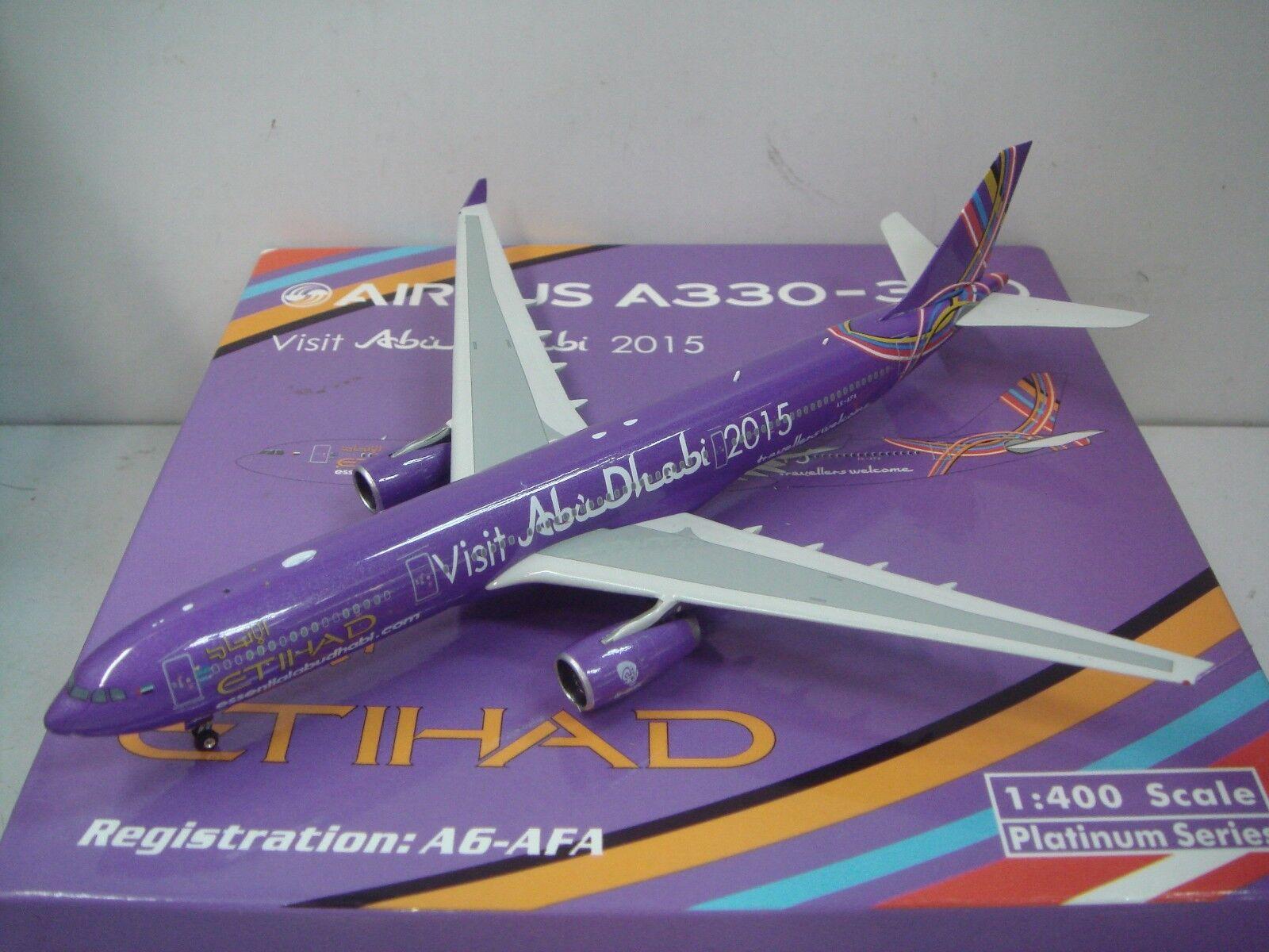 Phoenix 400 Etihad Airways A330-300  Visit Abu Dhabi 2011 couleur  1 400