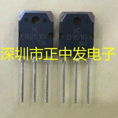 1pair 2SB2510//2SD1510 B2510//D1510 Transistor TO-3P