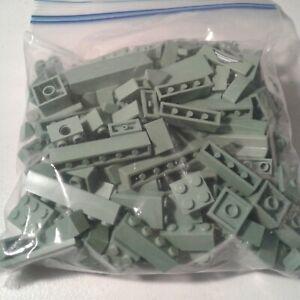 Plates LEGO  1//4 Pound 4 Oz Bulk Gray Mix  Bricks Special Pieces /& More