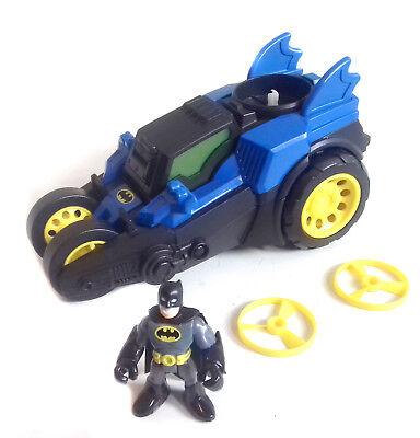 Fisher Giocattoli Imaginext Batman Price Batmobile Veicolo Giocattolo Unusual + Figura-mostra Il Titolo Originale Buono Per L'Energia E La Milza