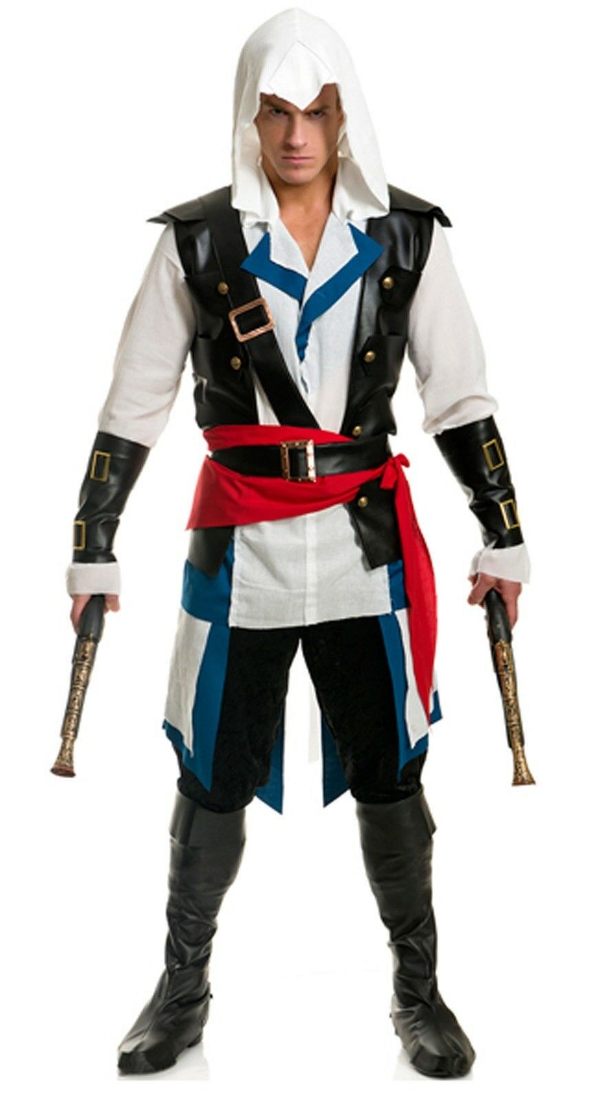 Assassin S Creed Iv Black Flag Cosplay Edward James Kenway Costume