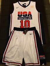 Kobe Bryant Nike Retro Team USA Jersey and Shorts L