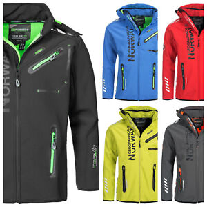 Geographical-Norway-Royaute-Herren-Softshell-Jacke-Outdoor-Funktionsjacke-Sport