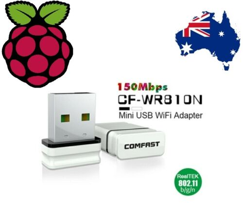 Raspberry Pi compatible 802.11b//g//n Wireless USB Network Adapter LAN Wifi Dongle