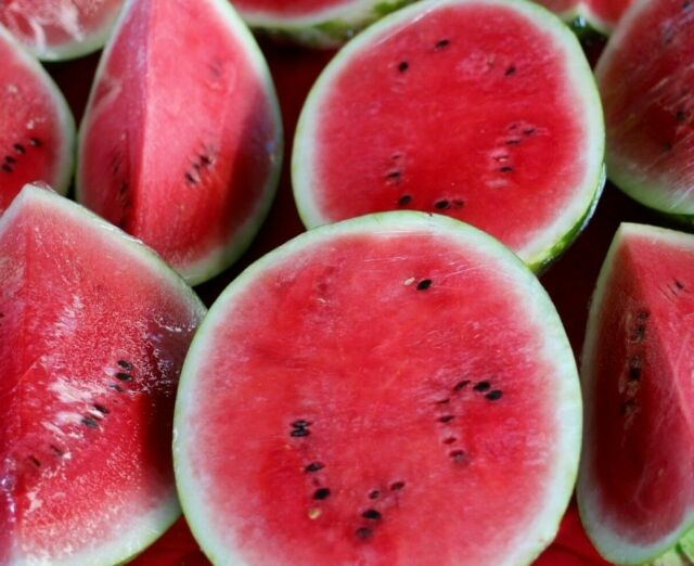 50 Seeds NON-GMO All Sweet Watermelon Seeds