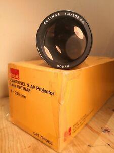 In-ORIGINAL-box-KODAK-RETINAR-4-3-250-mm-LONG-THROW-SLIDE-PROJECTOR-LENS