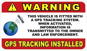 GPS-Tracking-For-Vehicle-Car-Truck-etc-Decals-Stickers
