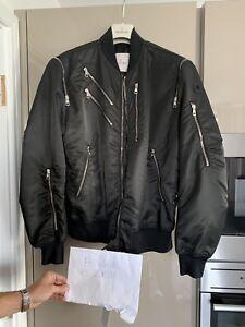 de Moncler Antheor 100 partir Authentic Black 3 Bomber Taille Veste Bnwt E7zaqn