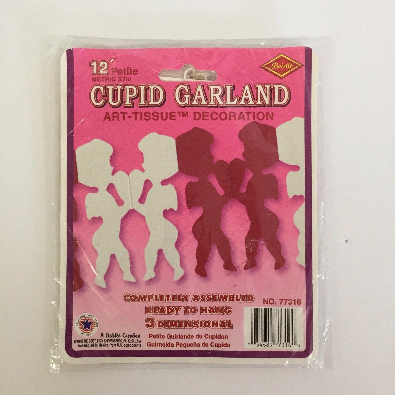 12/' Art Tissue Garland Decorations Beistle Assembled NOS U Pick not a Lot