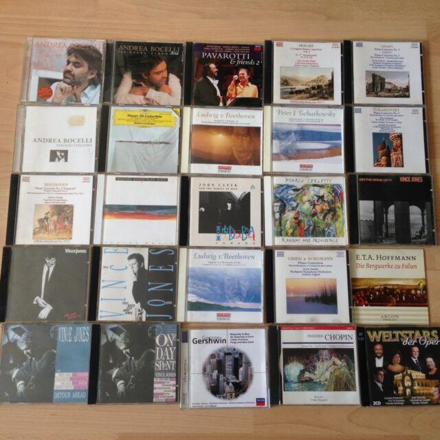 CD-Sammlung 40 Stück_Klassik/Jazz*