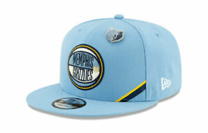 New-Era-Memphis-Grizzlies-2019-On-Stage-Draft-Hat-9Fifty-950-Snapback-NEW-Rare