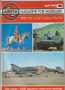 Airfix Magazine USAF Squad Codes And Markings April 1979 121919nonr