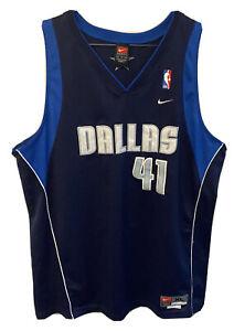 NBA Jersey NOWITZKI #41 Dallas Mavericks NBA Basketball Jersey BLUE Sport VEST