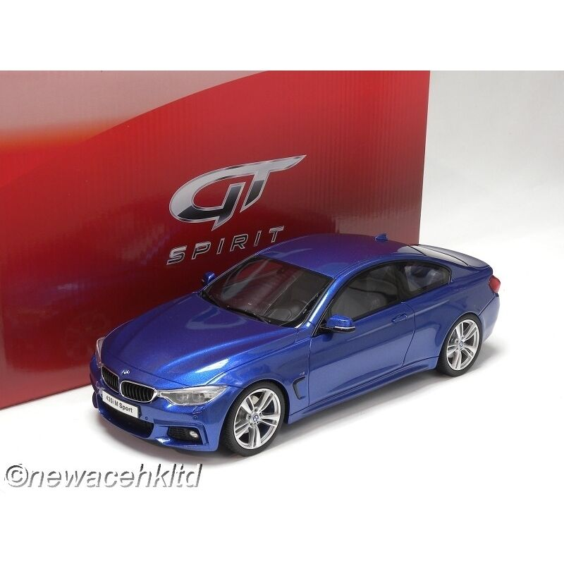 BMW M435I COUPE ESTORIL blu GT SPIRIT SPIRIT SPIRIT MODEL 1/18  GT027 4a1dd5