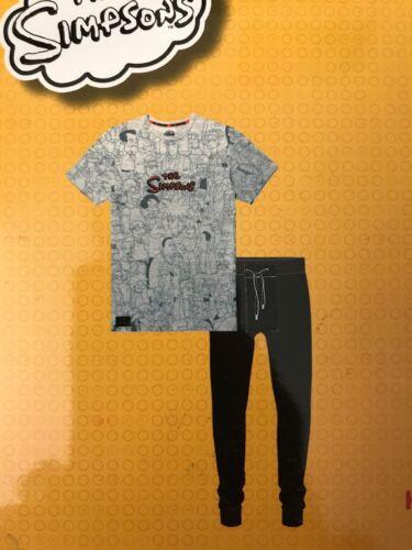 Primark The Simpsons Short Sleeve T /& Long Leg pyjamas M L or XL BNWT