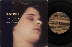 EURYTHMICS-Julia-7-034-Ps-B-W-Ministry-Of-Love-Vs-734