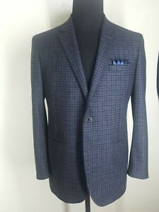 VALENTINO-Made-In-Italy-100-Wool-Sport-Coat-2-Btn-Center-Vent-US-Size-42-Reg