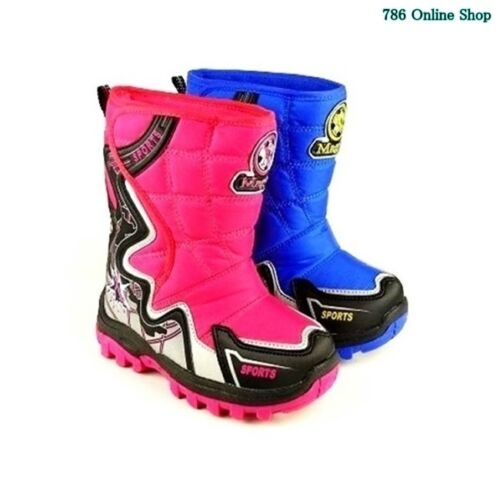 winterstiefel stiefel Schuhe Neu Kinder Sport Schuhe winterschuhe 67A