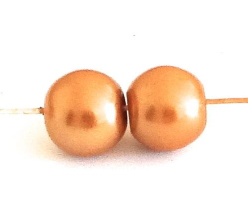 150 Verre Perles Grade A 6 mm Perles Rondes choisissez votre couleur