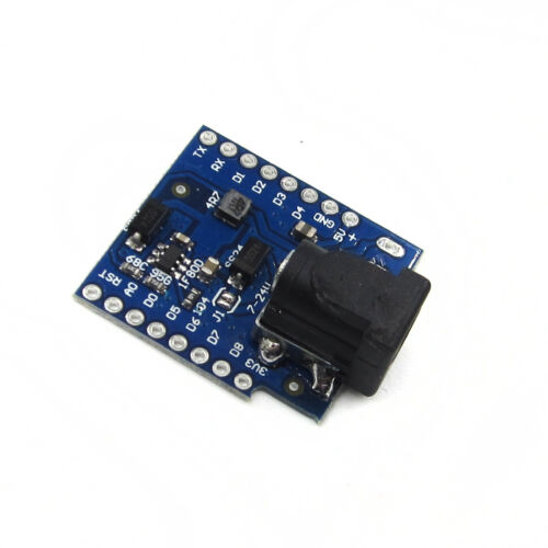 DC Power Socket Plug Shield V1.1.0 for WEMOS D1 mini