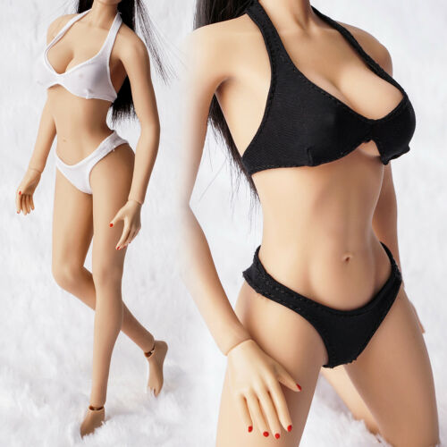 "1//6 Scale Female Swimsuit Bra Panties Bikini for 12/"" Hot Toys Action Figure Body"