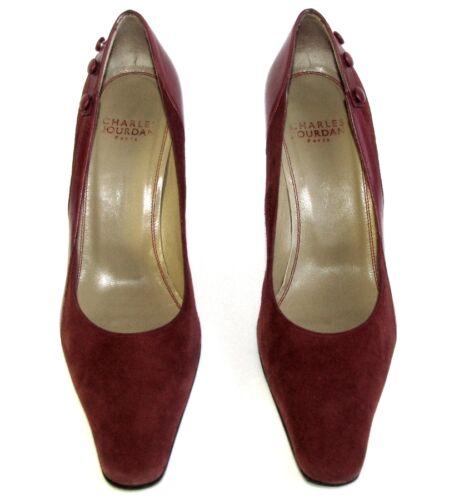 Charles All 5 36 Décolleté Red 5 Condizioni vintage 36 5 Jourdan Leather eccellenti Attw5Sq