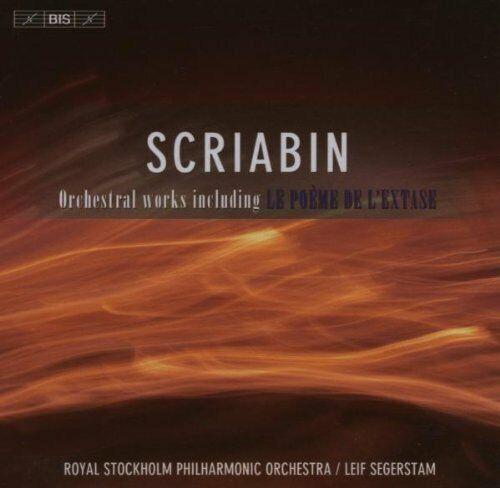 CD Scriabin - Orchestral Works including le poeme de ekstase / Leif Segerstam
