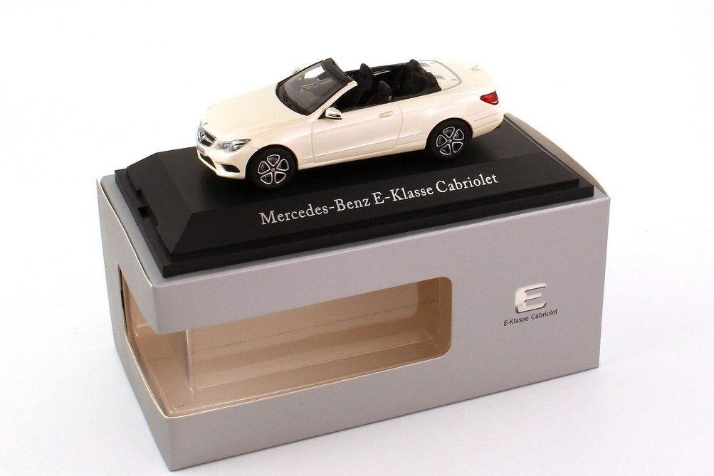 Kyosho 2013 Mercedes Benz Clase E Cabrio Diamante blancoo (distribuidor) 1 43 Rara