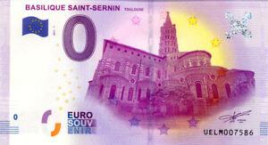 31-TOULOUSE-Basilique-Saint-Sernin-2017-Billet-0-Souvenir
