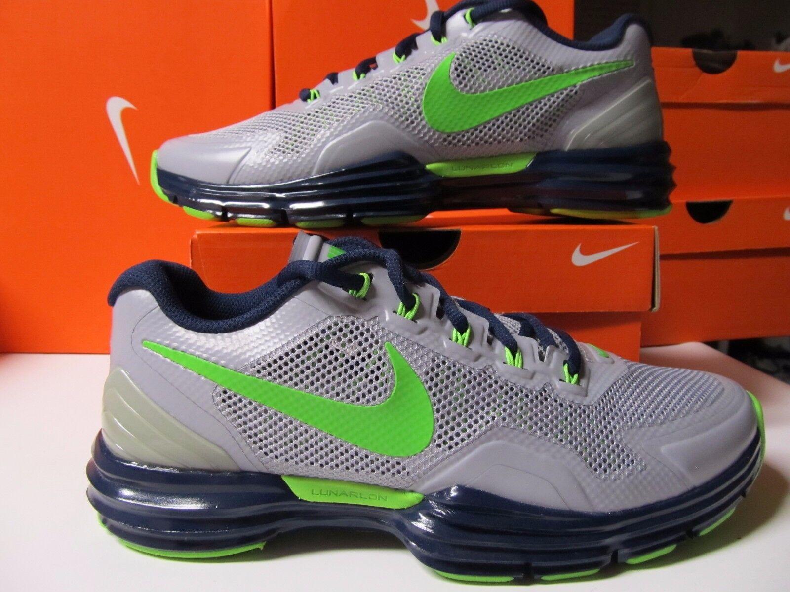 DS Nike Lunar TR1 PF SEATTLE SEAHAWKS Wolf Grey Green bluee 543594 029 NFL 90 amp