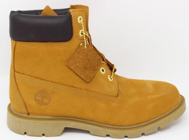 7b5e2e5ce15 18094 Timberland 6 Inch Basic Boot Wheat Nubuck Tb018094 9