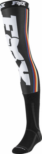 Fox Racing Mens Black//White Linc Dirt Bike Knee Brace Socks MX ATV 2020