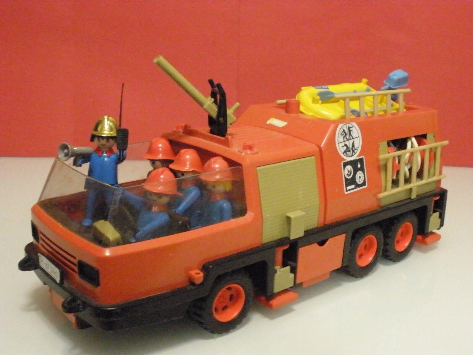 Playmobil Camión de bomberos extinción de incendios años 80 ref 3526 2