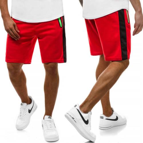 KURZHOSE Short Jogging Fitness unicolore Sport Shorts Hommes OZONEE js//81003