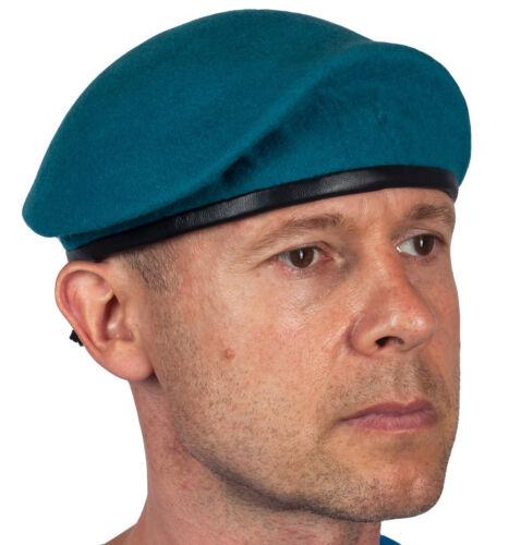 Genuine Russian USSR Military Black beret of Marines Thick felt