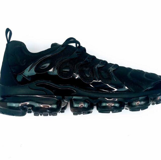 Nike Men's Air Vapormax Plus - Triple black - 924453 004 Sz 11