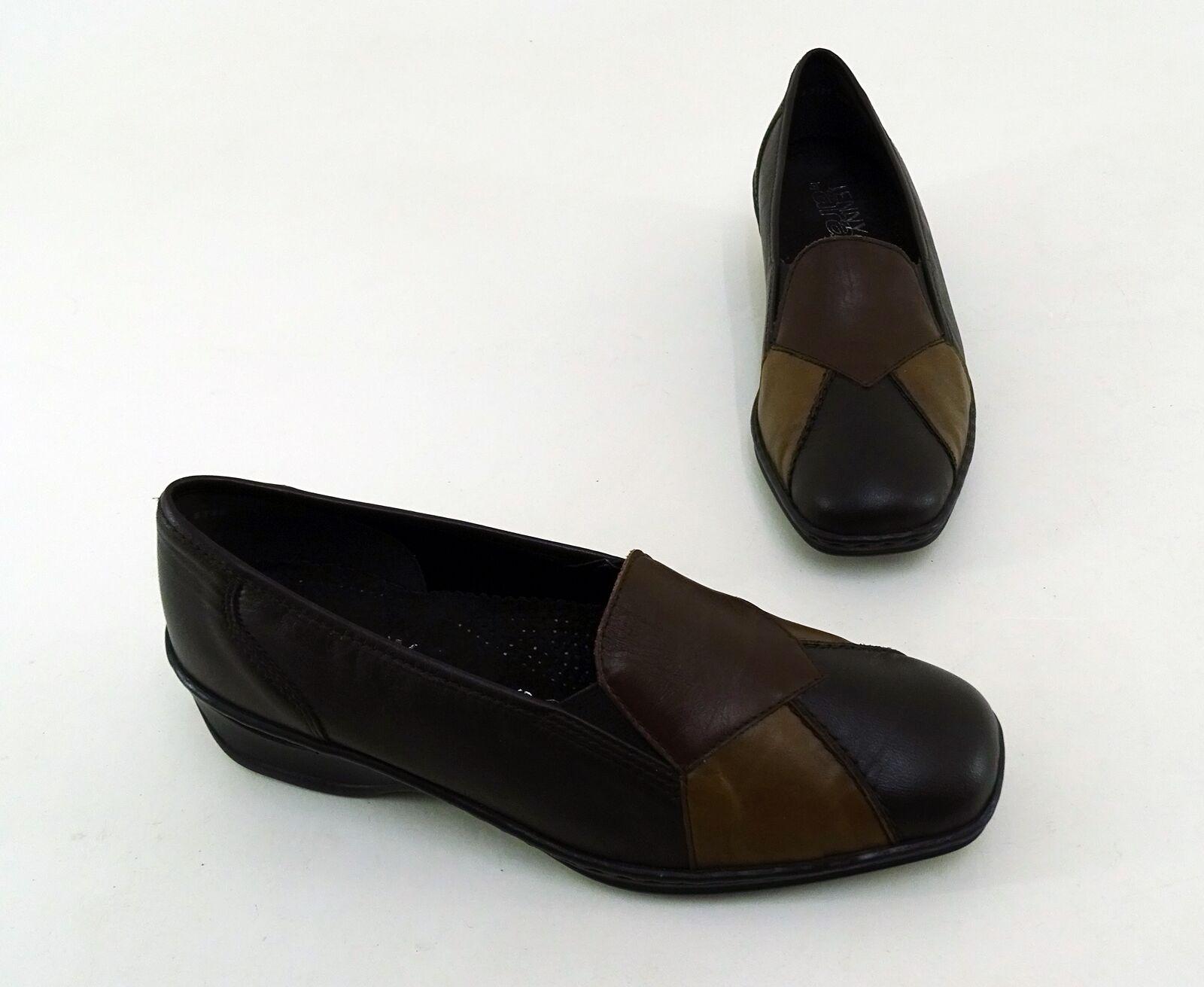 Slipper Jenny by ara ara ara zapato bajo deslizamiento cuero genuino marrón talla 5,5 = 38,5 G  entrega de rayos